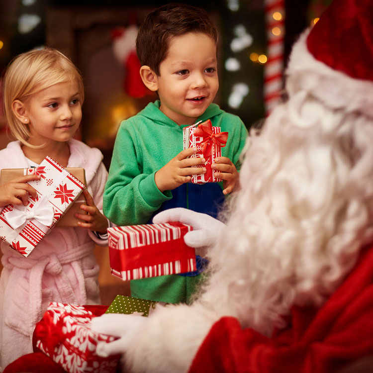 Visit Santa Claus at Billingley Christmas Tree Farm, Barnsley/Doncaster