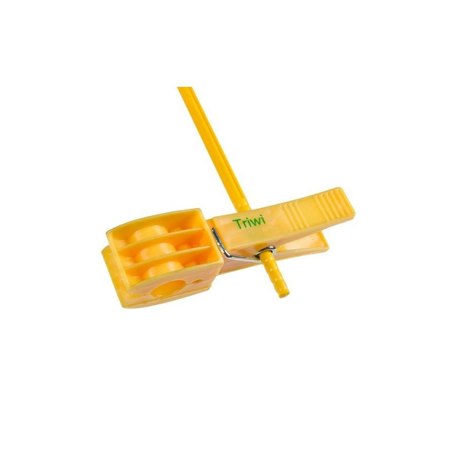 plastic bird stick and peg